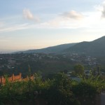 View of the mountains from Bujumbura