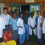 Farewell to Dr Raj by the staff of Kibuye Eye Clinic