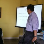 Lecture to the staff of BCVI's National Eye Clinic