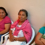 Patients waiting in the clinic for examination