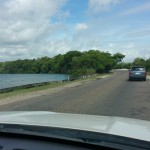 Belize City - Heading to the airport