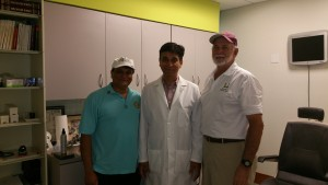Mr Amol Pendharkar, Dr Agrawal & Mr Barry Raisin