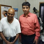 Dr Agrawal with Dr Rao