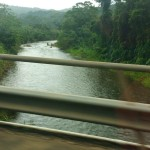 On the way back from Dangriga