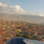 Landing at Cochabamba